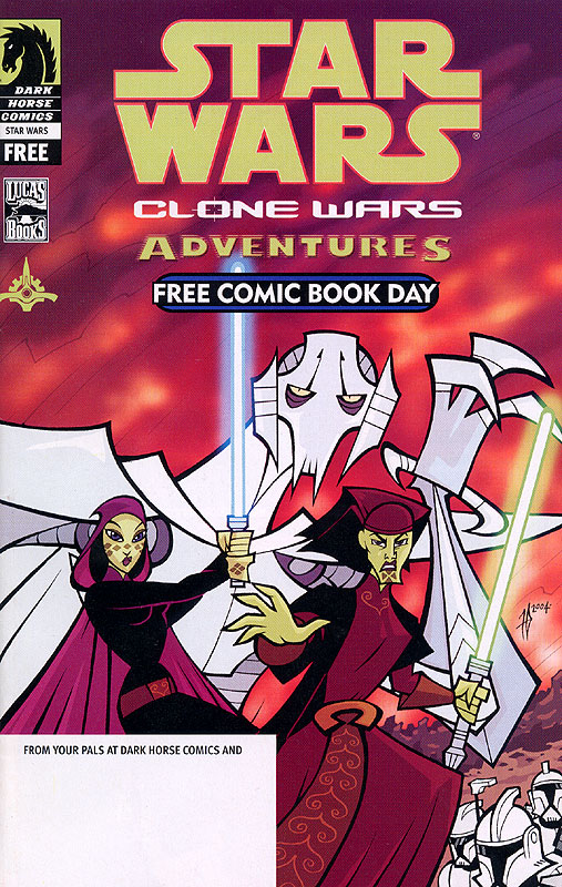 Clone Wars Adventures - Free Comic Book Day 2004 Special