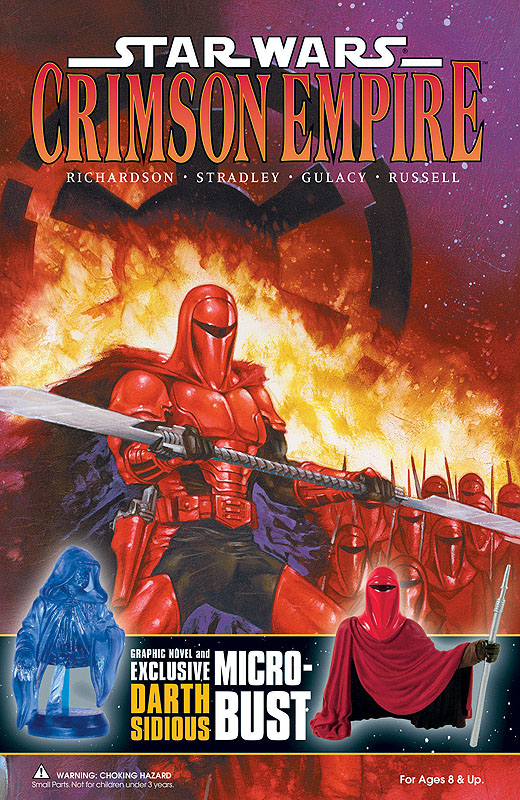 Crimson Empire and Exclusive Bust-Ups Set