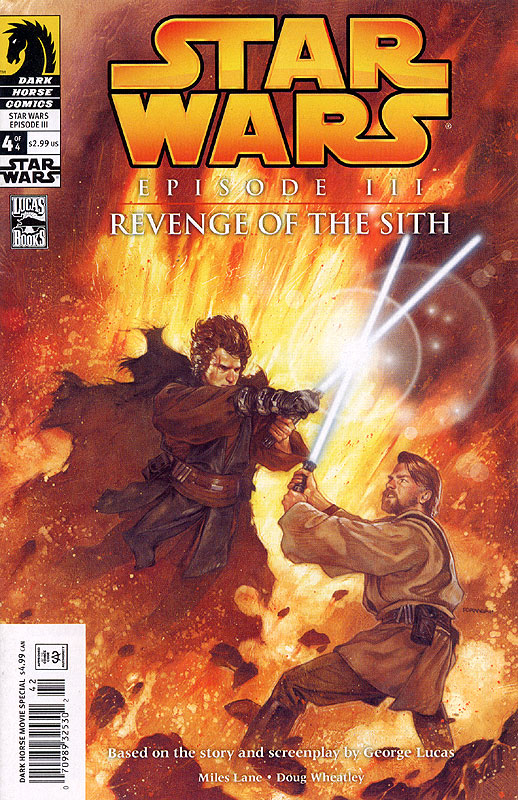 Episode III – Revenge of the Sith #4 (Newsstand Edition)