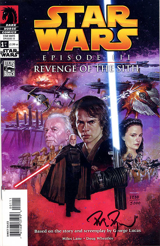 Episode III – Revenge of the Sith 1 - Dynamic Forces Limited Edition (Signed by Dave Dorman)