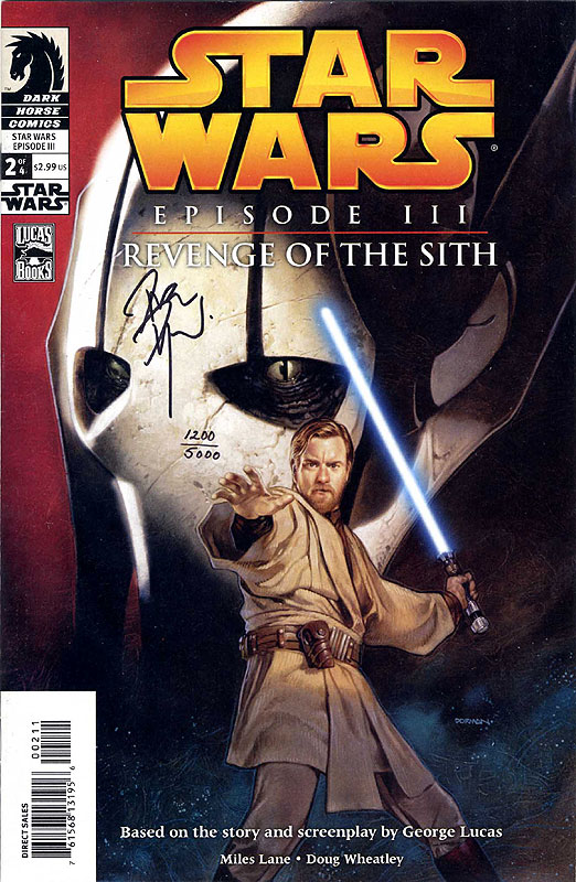 Episode III – Revenge of the Sith 2 - Dynamic Forces Limited Edition (Signed by Dave Dorman)