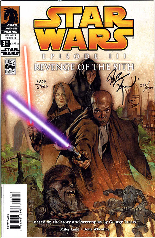 Episode III – Revenge of the Sith 3 - Dynamic Forces Limited Edition (Signed by Dave Dorman)