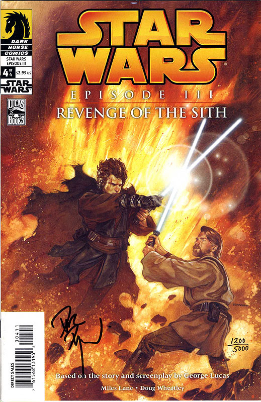 Revenge of the Sith #4 (Dynamic Forces Limited Edition)