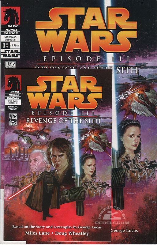 Star Wars: Episode III - Revenge of the Sith 1 | Mini Comic Target Exclusive