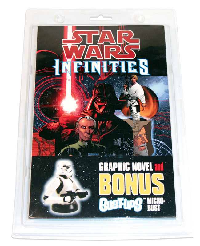 Infinities – A New Hope Trade Paperback & Exclusive Bust-Up Set