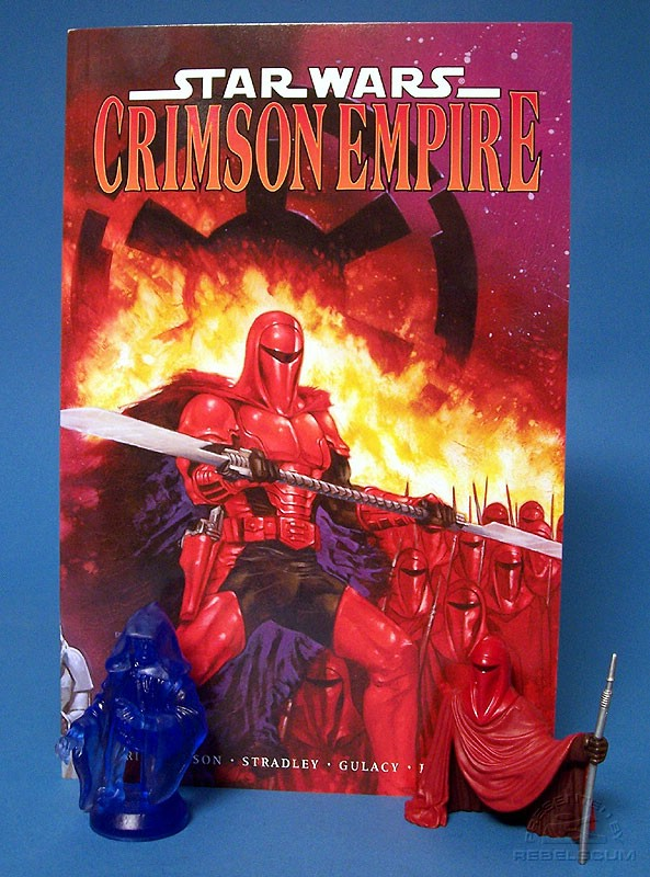 Crimson Empire Trade Paperback with Bust-Up Set