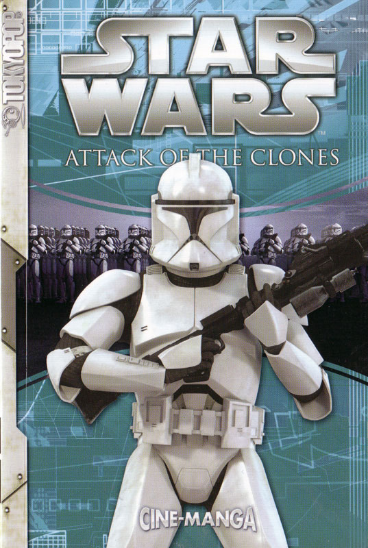 Attack of the Clones Cine-Manga