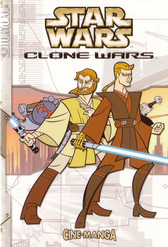 Clone Wars Volume 1 Cine-Manga