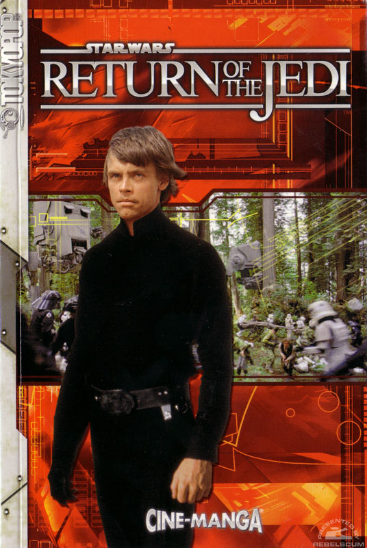 Return of the Jedi Cine-Manga