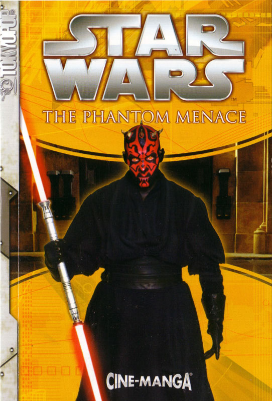 The Phantom Menace Cine-Manga