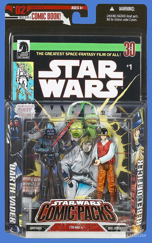 Star Wars: Comic Pack 2 Packaging