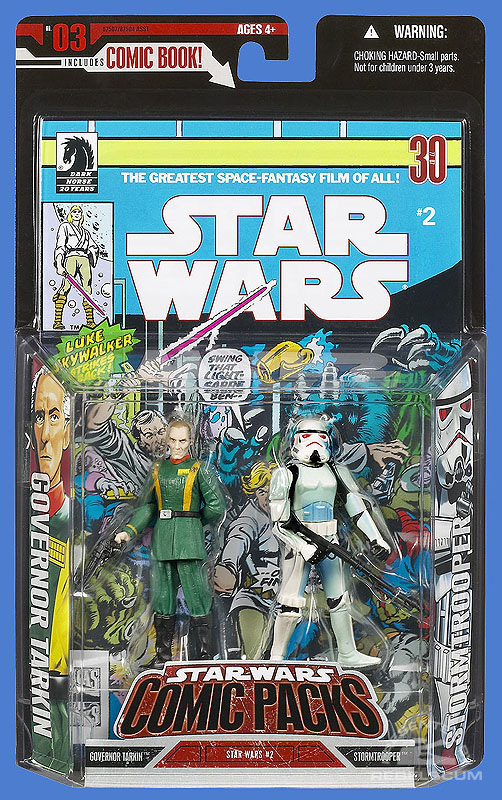 Star Wars: Comic Pack 3 Packaging