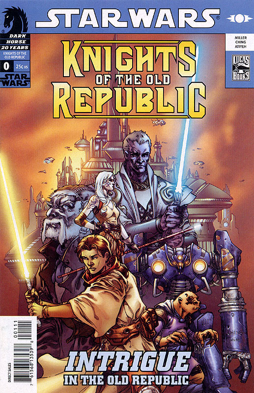 Knights of the Old Republic/Rebellion #0