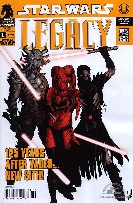 Legacy 1 (2nd Printing - November 2006)