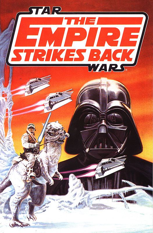 The Empire Strikes Back Trade Paperback (Wal*Mart DVD Edition)