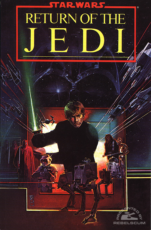 Classic Return of The Jedi Trade Paperback (Wal*Mart DVD Edition)