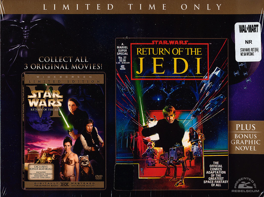 Return of the Jedi (Wal*Mart DVD) Box Front