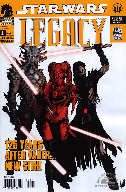 Legacy #1 (2nd printing)