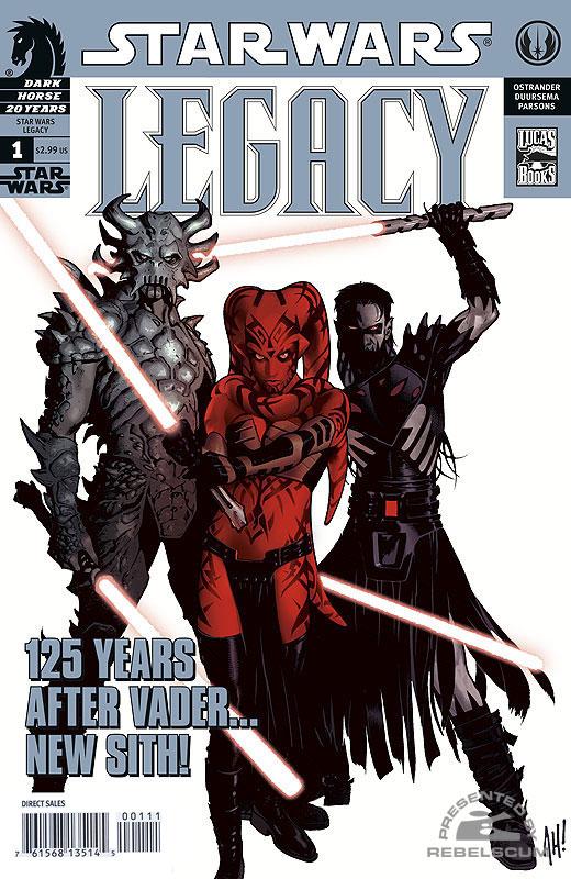 Legacy #1 (3rd printing)