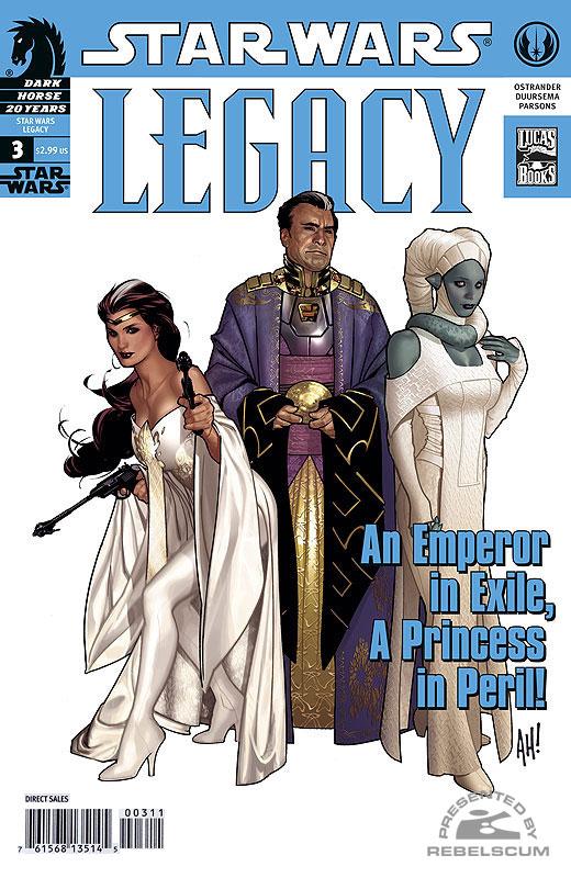 Legacy #3 (2nd printing)