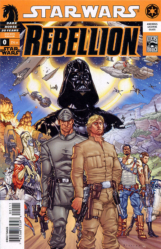 Rebellion 0  (Flip Book with Knight of the Old Republic 0)