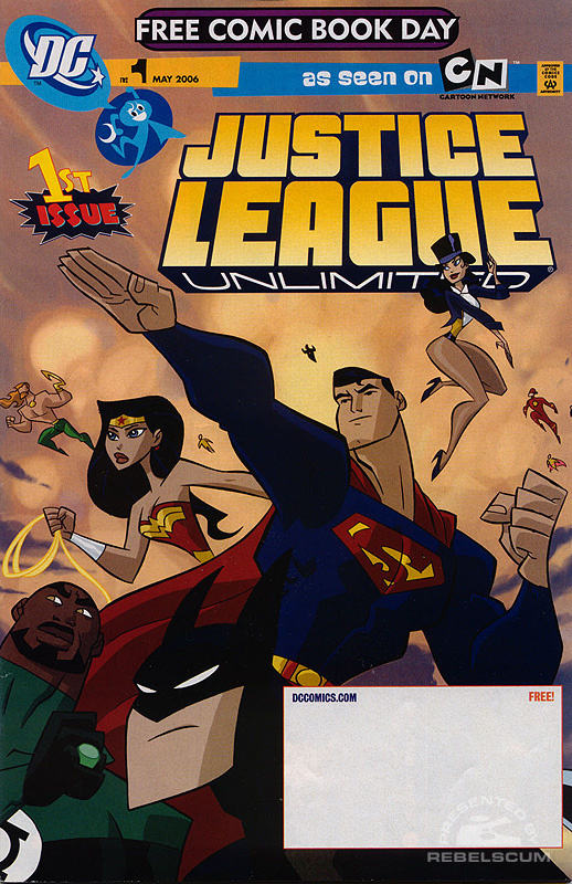 Justice League Unlimited Free Comic Book Day 2006