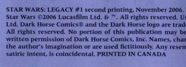 Legacy 1 (2nd Printing - Indicia)