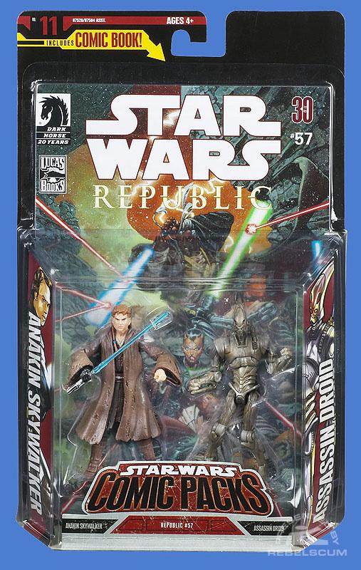 Star Wars: Comic Pack 11 Packaging