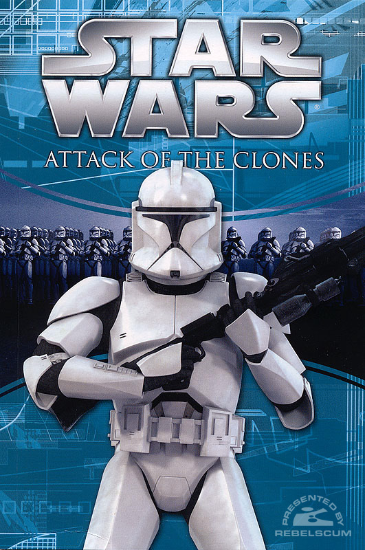 Attack of the Clones Photo Comic