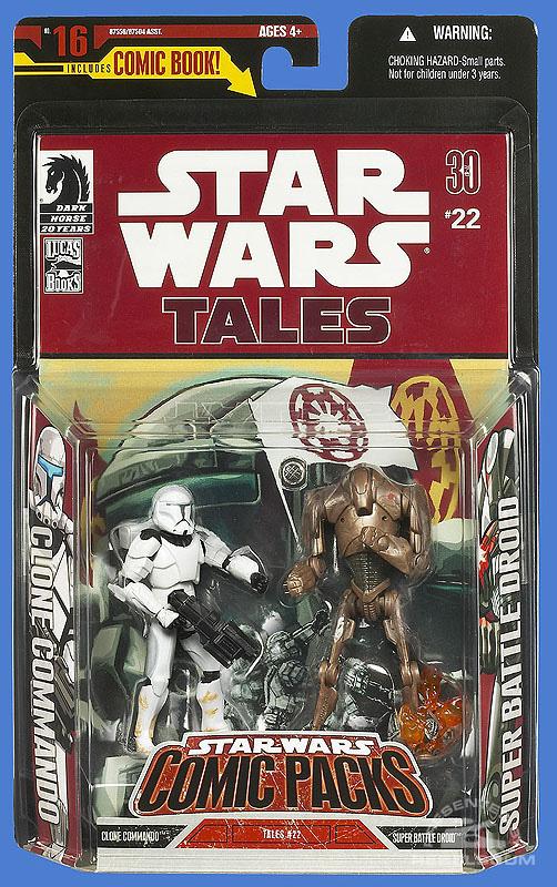 Star Wars: Comic Pack 16 Packaging