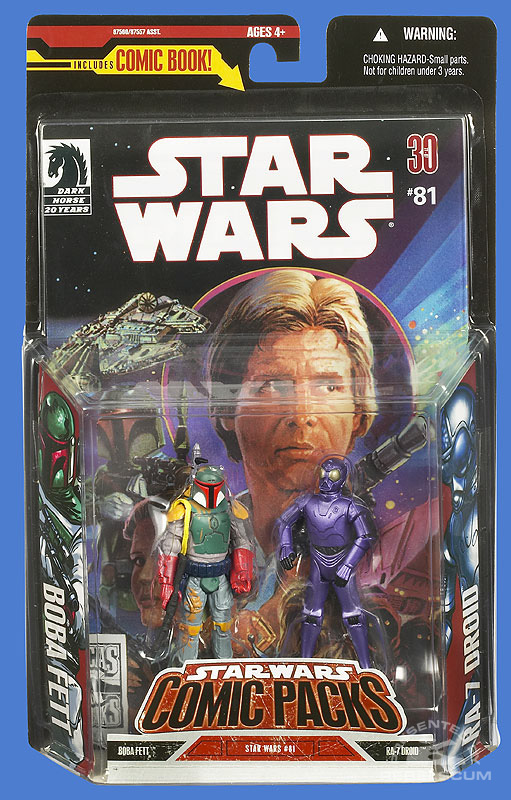 Star Wars: Comic Pack Wal*Mart Exclusive 3 Packaging