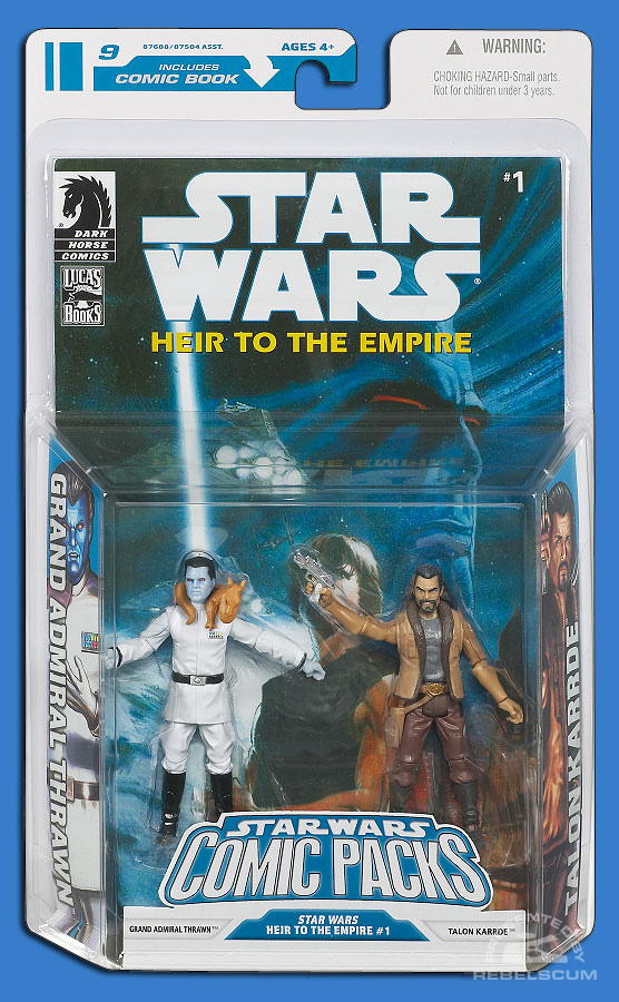 Star Wars: The Legacy Collection 08 Comic Pack 9 Packaging