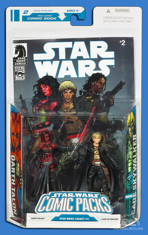 Star Wars: The Legacy Collection 08 Comic Pack 4 Packaging