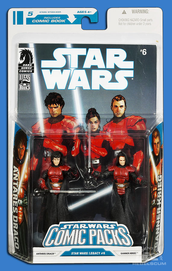 Star Wars: The Legacy Collection 08 Comic Pack 5 Packaging