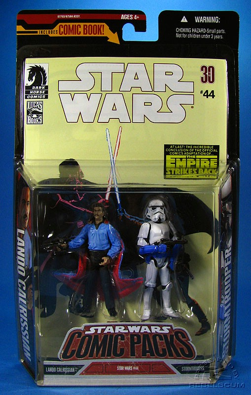 Star Wars: Comic Pack Wal*Mart Exclusive 4 Packaging
