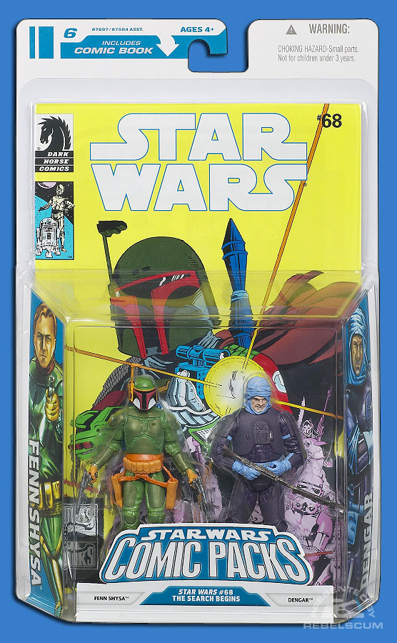 Star Wars: The Legacy Collection 08 Comic Pack 6 Packaging