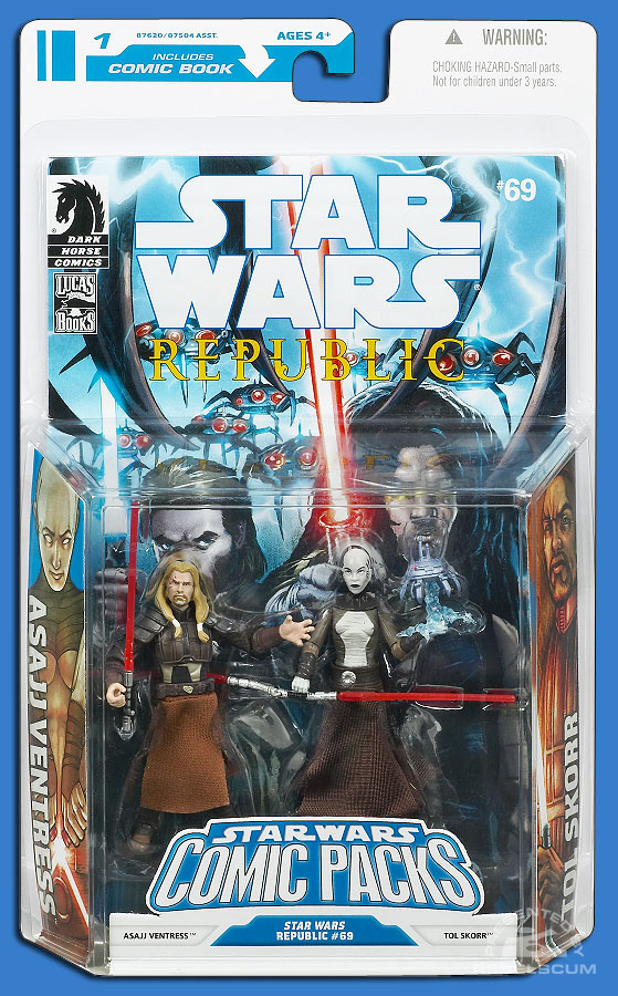 Star Wars: The Legacy Collection 08 Comic Pack 1 Packaging