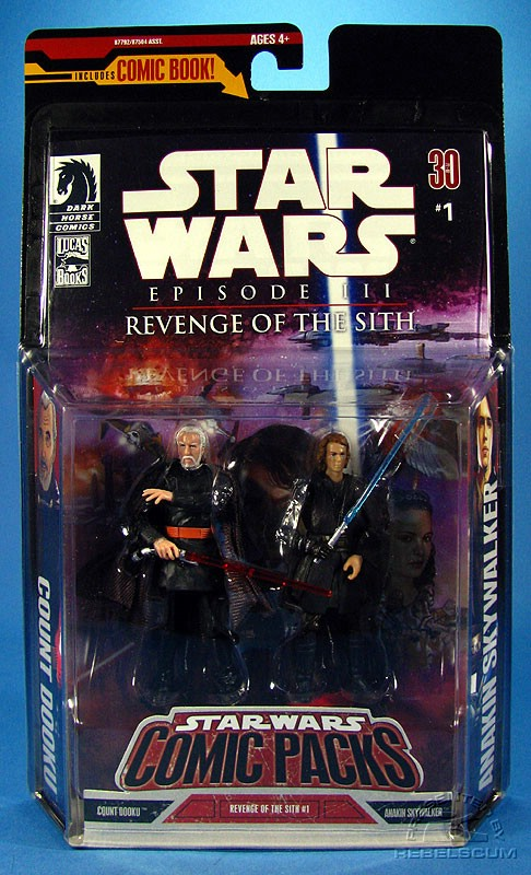 Star Wars: Comic Pack Wal*Mart Exclusive 6 Packaging
