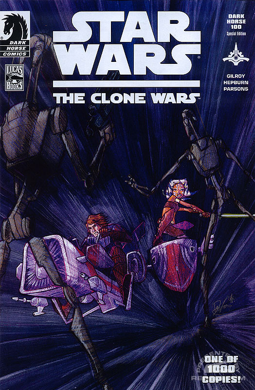 The Clone Wars 1 (Dark Horse 100 limited cover)