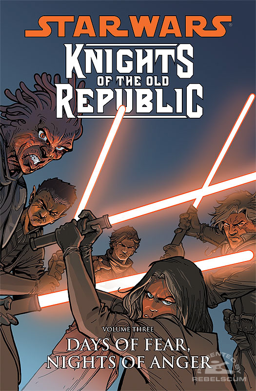 Knights of the Old Republic Trade Paperback #3