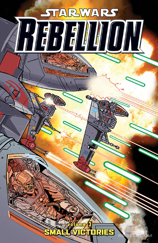 Rebellion Trade Paperback Vol. 3 - 'Small Victories'