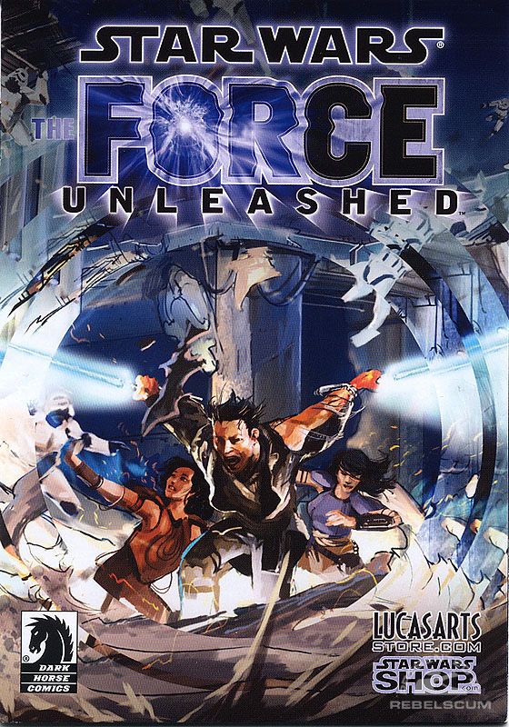 The Force Unleashed Mini-Comic