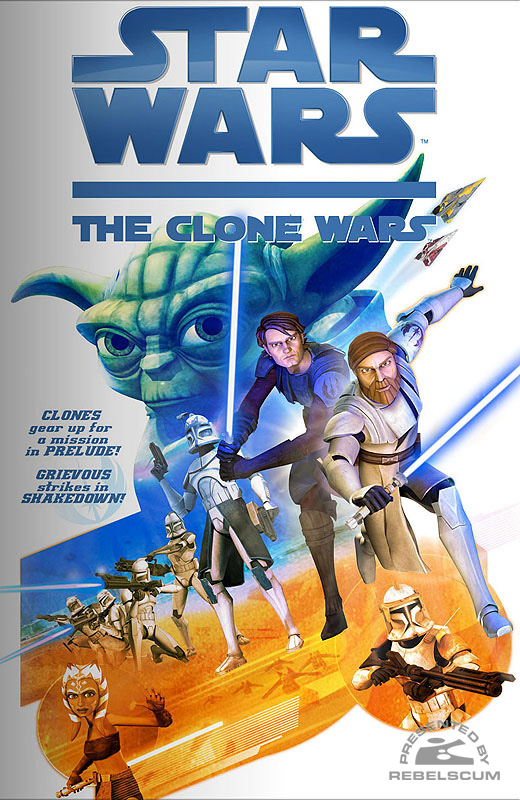 The Clone Wars Web Comic #1