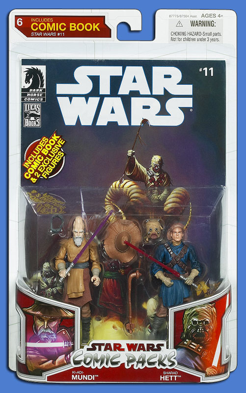 Star Wars: The Legacy Collection 09 Comic Pack 6 Packaging
