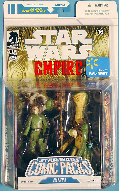 Star Wars: The Legacy Collection 08 Comic Pack Wal*Mart Exclusive 7 Packaging