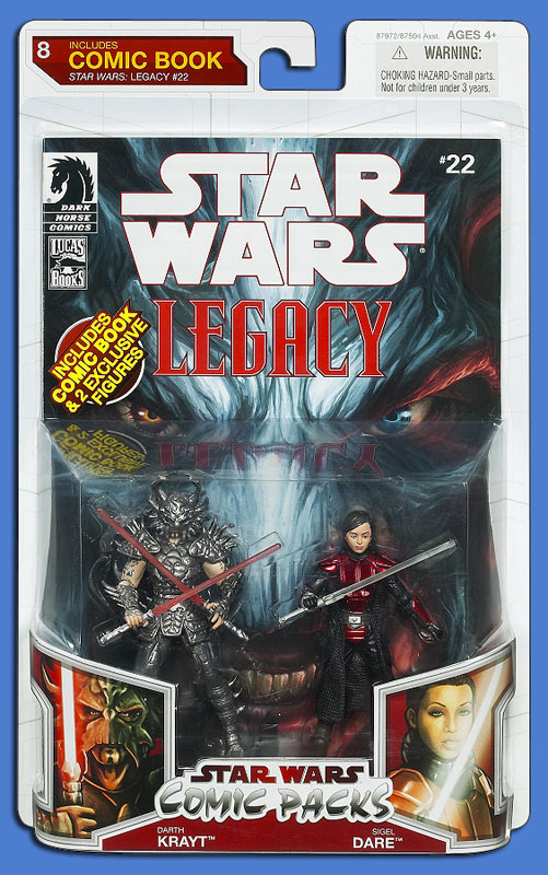 Star Wars: The Legacy Collection 09 Comic Pack 8 Packaging
