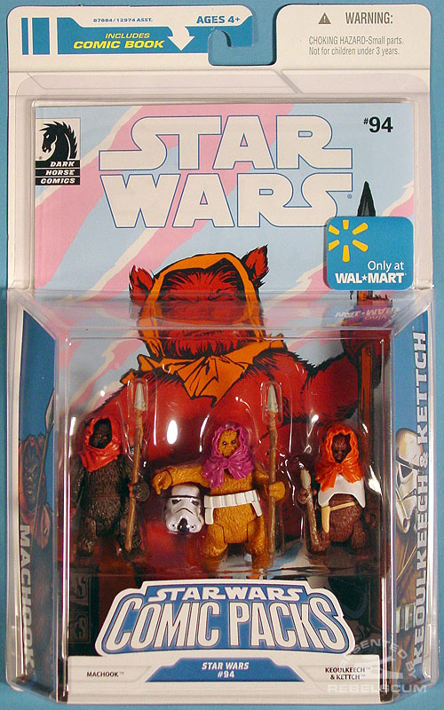 Star Wars: The Legacy Collection 08 Comic Pack Wal*Mart Exclusive 9 Packaging