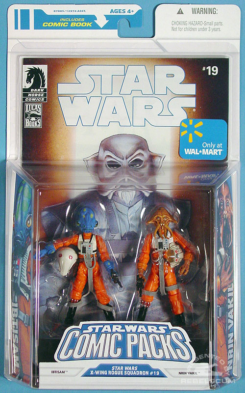 Star Wars: The Legacy Collection 08 Comic Pack Wal*Mart Exclusive 8 Packaging