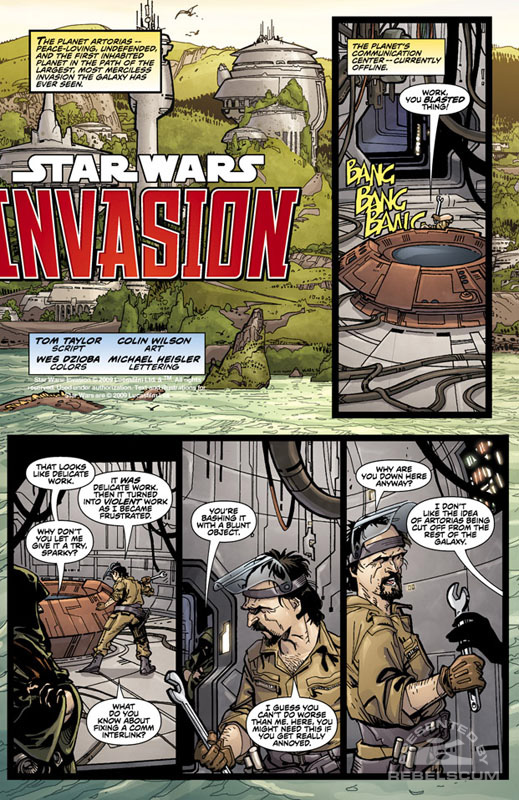 Invasion #0, part 2