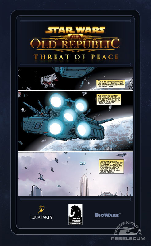 The Old Republic - Threat of Peace #1